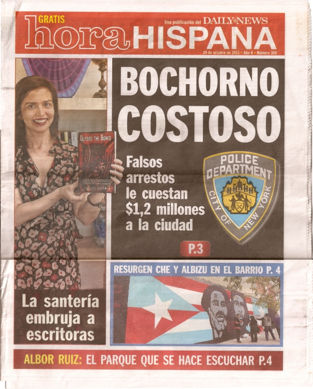 Daily News Supplement Hora Hispana With Dos Alas - Albizu Che Mural Restoration