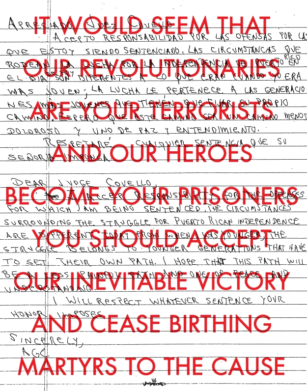 Our Revolutionaries Your Terrorists by vagabond ©