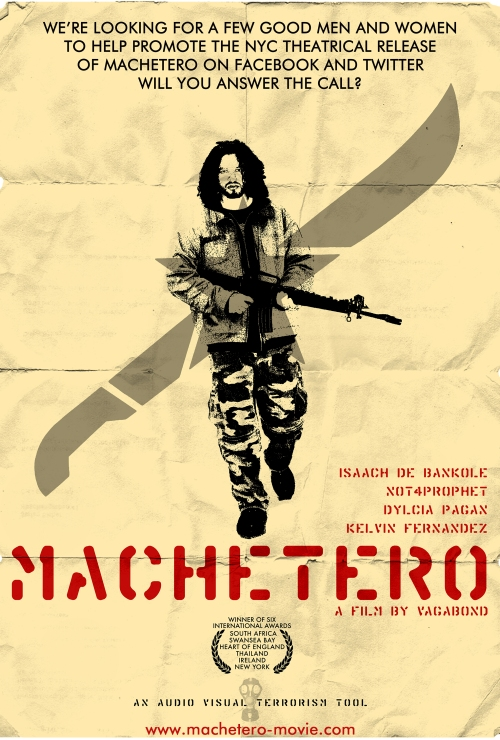 Machetero Recruitment Poster by vagabond ©