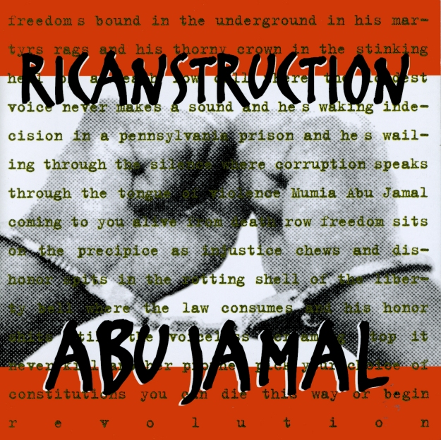 Abu Jamal EP by RICANSTRUCTION (cover design by Sam Lahoz www.slny.net)