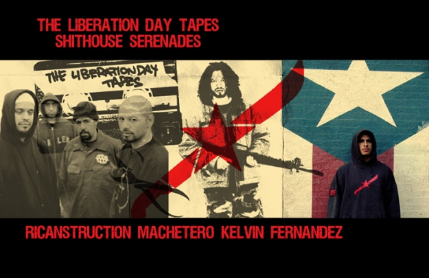 Shithouse Serenades RICANSTRUCTION MACHETERO Kelvin Fernandez