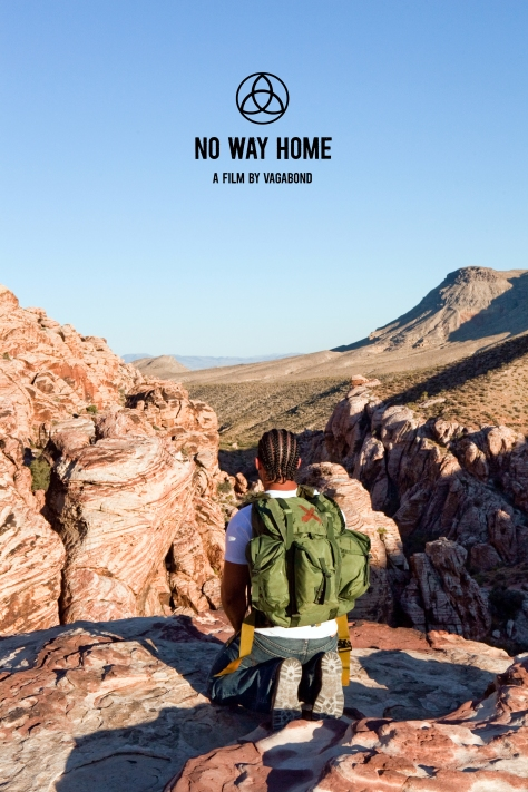 No Way Home Red Rock Canyon photo by Sam Lahoz design by vagabond